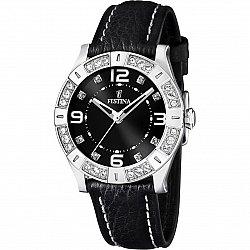 Festina Trend Black Leather F16537/2