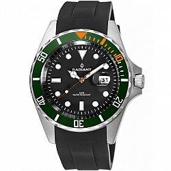 Radiant New Navy Steel Diver Black RA410604