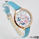 Изображение на часовник Olivia Westwood BOW10022-817 Blue Leather Flowers