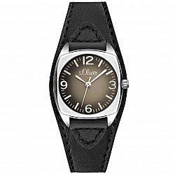 S.Oliver Time Leather Black SO-2836-LQ