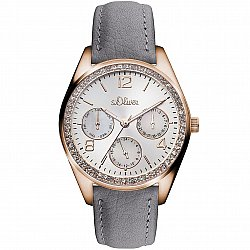 S.Oliver Time Leather Gray SO-3164-LM