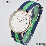 Изображение на часовник Andreas Osten AO-16 Two-Tone Green NATO Strap