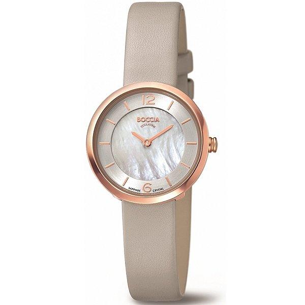 Изображение на часовник Boccia Titanium 3266-02 Rose Gold Plated