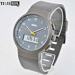 Изображение на часовник Braun Gray Classic Digital BN0159GYGYG Rubber