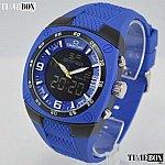 Изображение на часовник Charles Delon 5650 Blue Dual Time Zone