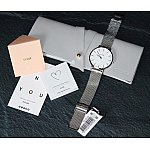 Изображение на часовник Cluse La Bohème Mesh Silver CL18105