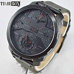 Изображение на часовник Diesel DZ7358 Machinus 4 Timezone Dial Black Fabric
