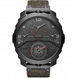 Diesel DZ7358 Machinus 4 Timezone Dial Black Fabric