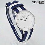Изображение на часовник Daniel Wellington DW00100047 Glasgow Silver 36mm