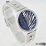 Изображение на часовник Just Cavalli Zebra Mesh Blue JC1L077M0065
