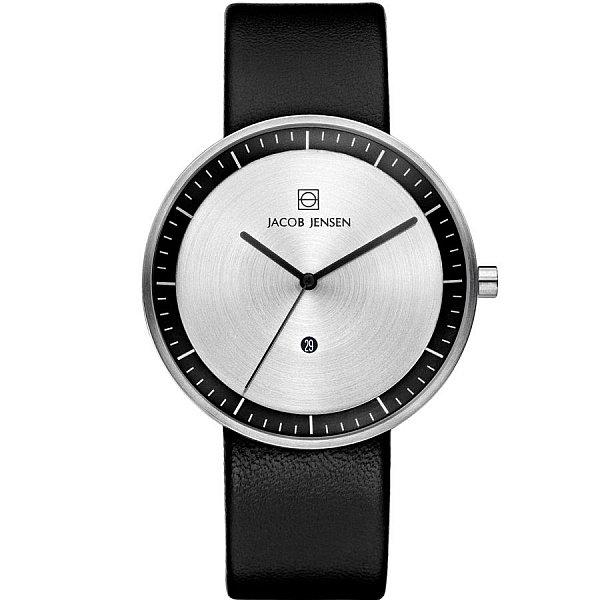 Изображение на часовник Jacob Jensen 270 Strata Ascent Gents Black Leather