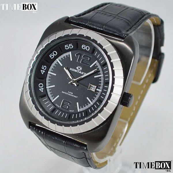 Изображение на часовник Kontakt 7779 Black Knight IP Plated