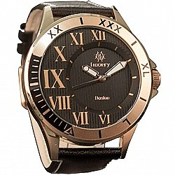 Luxxery Boston Montre Business BOS11 Rose Gold