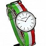 Изображение на часовник Monetti Timeless 316L Wristwatch with Three NATO Bracelets