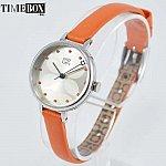 Изображение на часовник Orla Kiely Ivy Watch OK2013 Slim Orange Leather