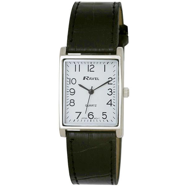 Изображение на часовник Ravel Classic Rectangular R0120.02.1A