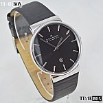 Изображение на часовник SKAGEN Ancher Refined Black Leather SKW6104