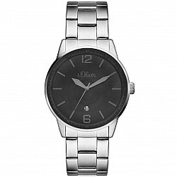 S.Oliver SO-15161-MQR Steel Mens Watch