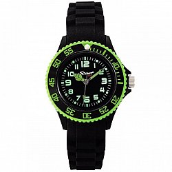 Scout Sport Black Silicone Watch 280303000