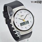 Изображение на часовник BRAUN White Dial Classic Digital BN0159WHBKG Rubber