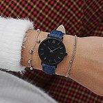 Изображение на часовник Cluse Minuit Black Denim Blue CL30031