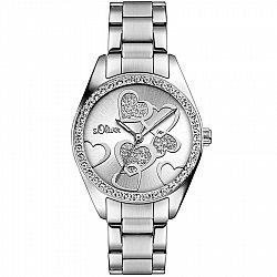 S.Oliver Time Silver Valentines Love SO-2857-MQ