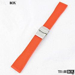Силиконова каишка 22мм за мъжки часовник червен 037