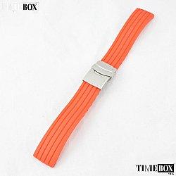 Силиконова каишка 24мм за мъжки часовник червен 050
