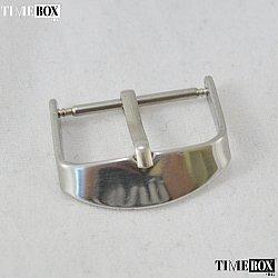 Катарама 22мм за кожена каишка на мъжки часовник Silver