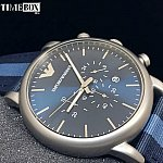 Изображение на часовник Emporio Armani AR1949 Luigi NATO Chronograph