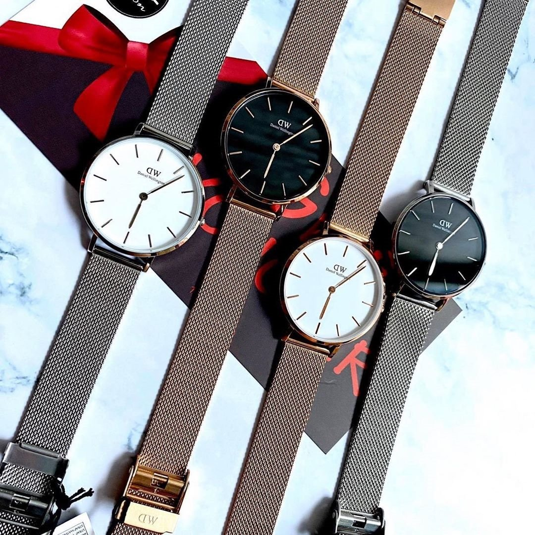 daniel wellington petite watches